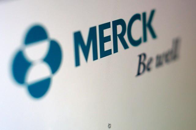 Merck a affiché un bénéfice de 1,95 milliard... (PHOTO ARCHIVES REUTERS)