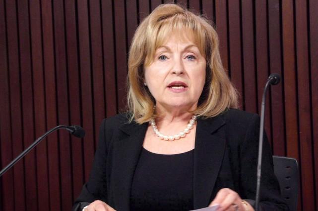 « La nomination avortée de Madeleine Meilleur à... (Archives, La Presse Canadienne)