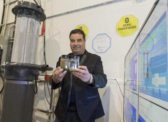 Mohamed Laaroussi, directeur général de E2Metrix, est fier... (Spectre Média, Marie-Lou Béland)