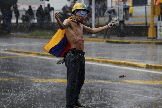 Depuis le début des manifestations antigouvernementales en avril,... (Photo AP)