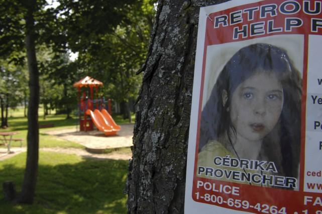 Une affiche pour retrouver Cédrika Provencher, peu de... (photo sylvain mayer)