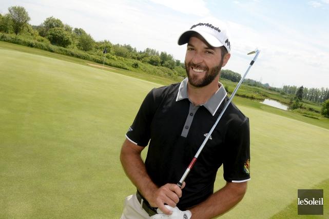 Bussières donne l'impression de jouer son meilleur golf... (Archives, Le Soleil)