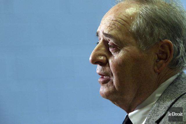 Le président de la Commission scolaire des Draveurs... (Etienne Ranger, Archives Le Droit)