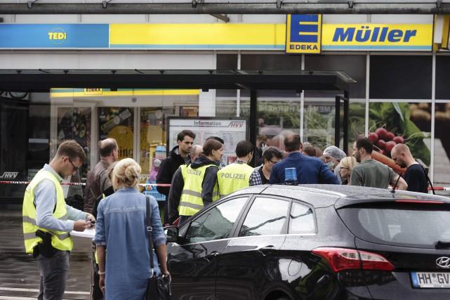 Vendredi après-midi, un homme de 26 ans a... (AFP, Markus Scholz)