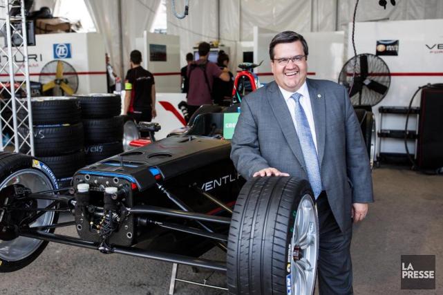 Le maire de Montréal, Denis Coderre, a visité... (Photo Edouard Plante-Fréchette, archives La Presse)