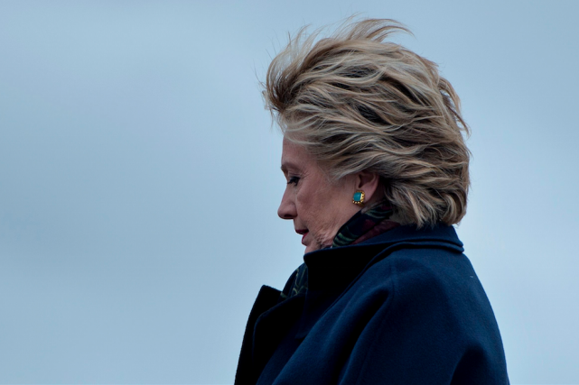 Hillary Clinton... (AFP PHOTO / Brendan Smialowski)