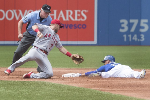 Accusant un retard de 5-3, les Angels ont... (Photo La Presse Canadienne)