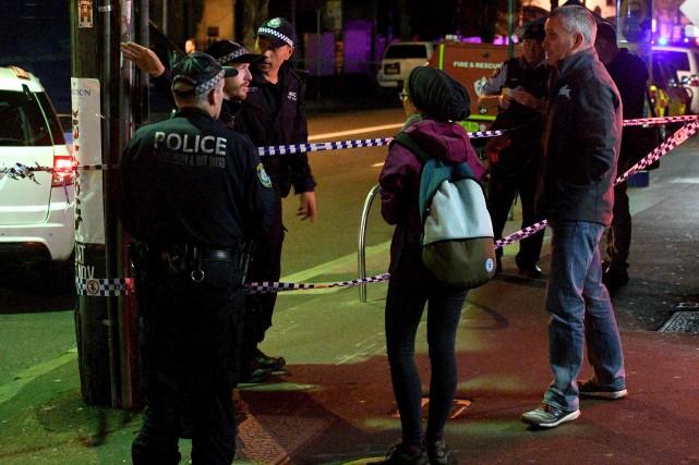 L'enquête policière pourrait se poursuivre pendant plusieurs jours,... (AFP, William WEST)
