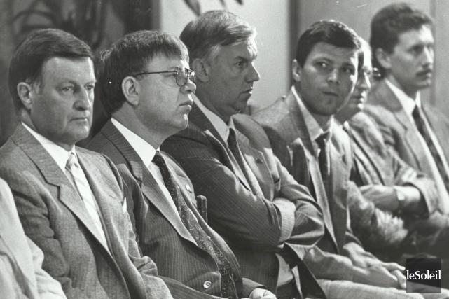 Maurice Filion, Gilles Léger, Ron Lapointe, Peter Stastny... (Archives Le Soleil, Jean-Marie Villeneuve)