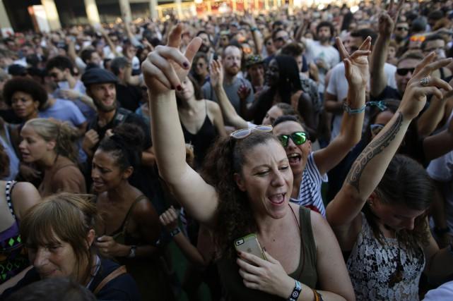 L'incident a eu lieu pendant un festival de... (Photo archives AP)