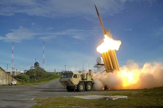 """Résultat de recherche d'images pour """"USA : nouveau test réussi d'interception d'un missile, 2017"""""""
