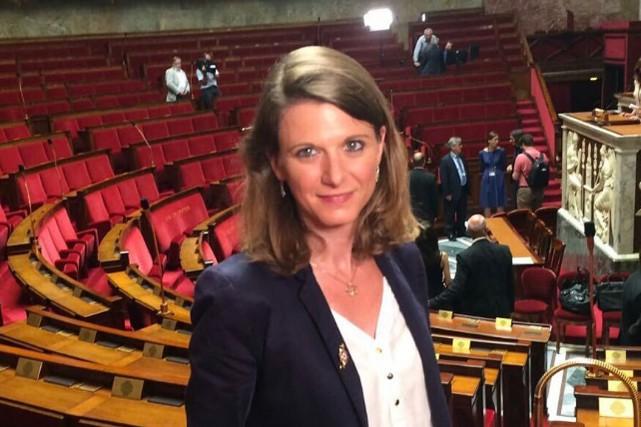 Laurianne Rossi, élue en juin du parti présidentiel... (IMAGE TIRÉE DE TWITTER)