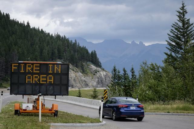 Mis en place le 7 juillet dernier, l'état... (Jeff McIntosh, La Presse canadienne)