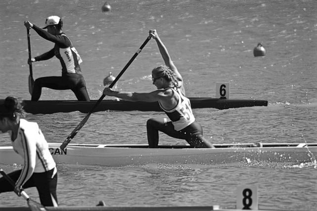 Sophia Jensen a gagné deux médailles d'argent aux... (Courtoisie, Canoe Kayak Canada)