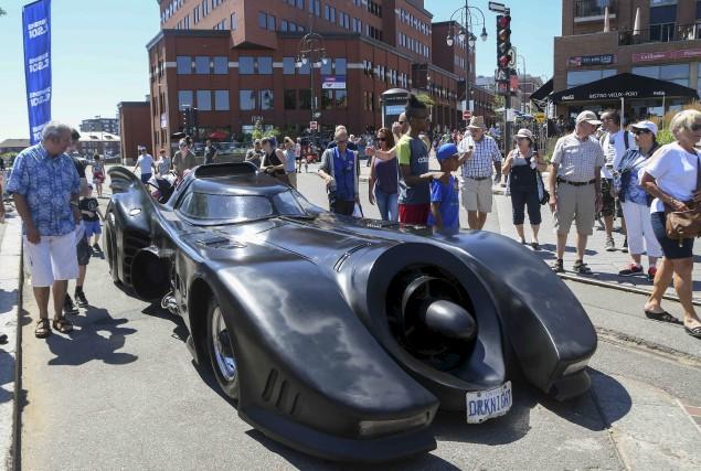 La Batmobile des films de Tim Burton était... (Andréanne Lemire)