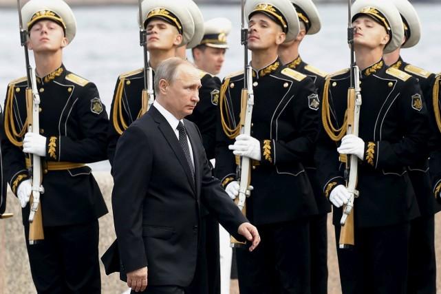 Le président russe Vladimir Poutine s'est rendu à... (AP, Maxim Shipenkov)