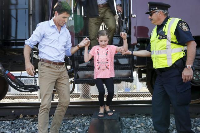 En fin de semaine, le premier ministre Justin... (La Presse canadienne, Jeff McIntosh)