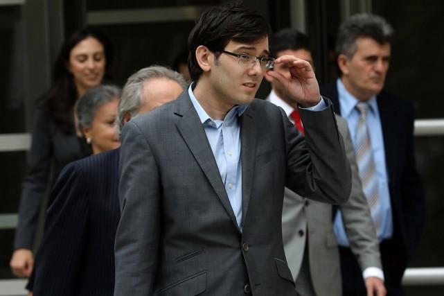 L'entrepreneur de la pharmacie et financier Martin Shkreliest... (Photo Mike Segar, REUTERS)