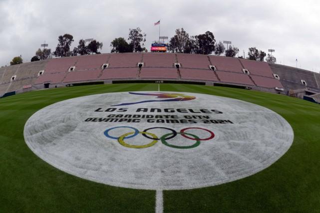 Los Angeles obtiendra les JO pour la troisième... (PHOTO REUTERS)