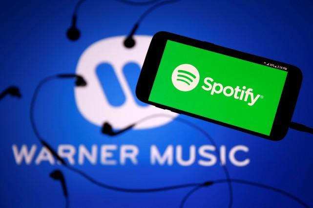 Spotify seraiten négociations avec le troisième plus grand... (Reuters)