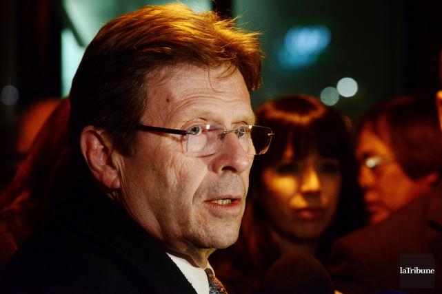 Serge Cardin: «Je suis dans l'équipe de l'exécutif... (Archives, La Tribune)