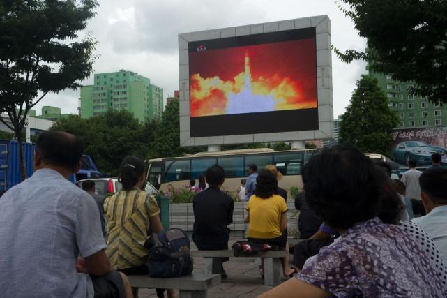 La vitesse à laquelle la Corée du Nord... (Photo AFP)