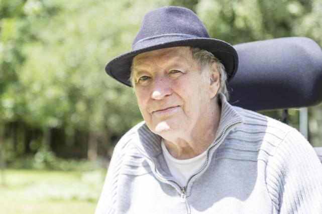 L'ancien culturiste Pierre Guilbault ne baisse pas les... (Spectre Média, Marie-Lou Béland)