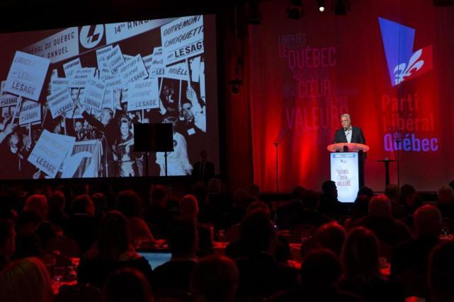 Le nouveau président du Parti libéral du Québecdoit... (PHOTO ROBERT SKINNER, ARCHIVES LA PRESSE)
