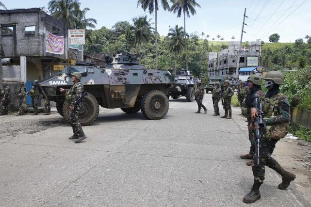 La vague de répression du président Duterte a... (AP, Bullit Marquez)