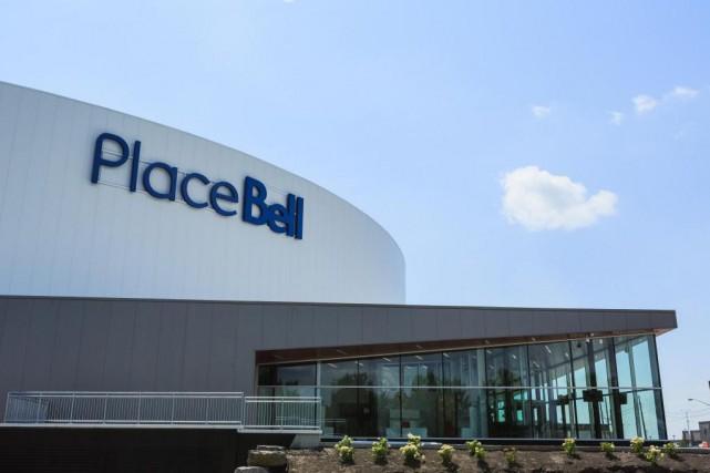 Le Groupe CH pourra inaugurer la Place Bell... (PHOTO EDOUARD PLANTE-FRÉCHETTE, LA PRESSE)