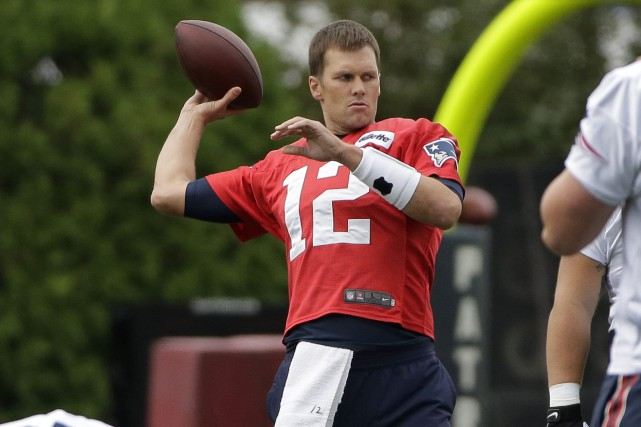 Tom Brady... (Photo Steven Senne, AP)