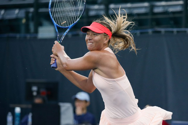 Maria Sharapova... (Stan Szeto, USA Today Sports)