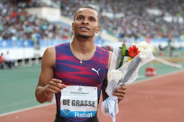AndreDe Grasse... (Abdeljalil Bounhar, Associated Press)
