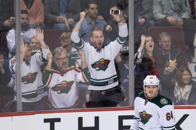 Mikael Granlund fera le plaisir des partisans du... (Photo Darryl Dyck, La Presse canadienne)