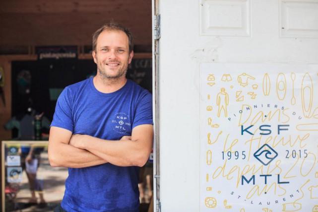 Hugo Lavictoire,président fondateur de Kayak sans frontière (KSF)... (Photo Edouard Plante-Fréchette, La Presse)
