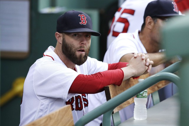 Dustin Pedroia... (Photo Charles Krupa, AP)