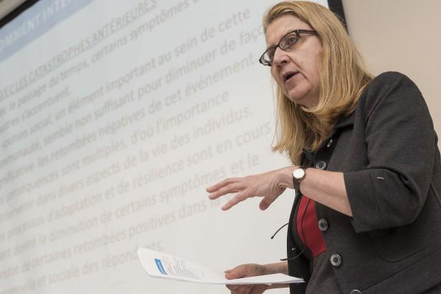 L'hiver dernier, la professeure-chercheure Danielle Maltais, révélait que... (Archives, La Tribune)