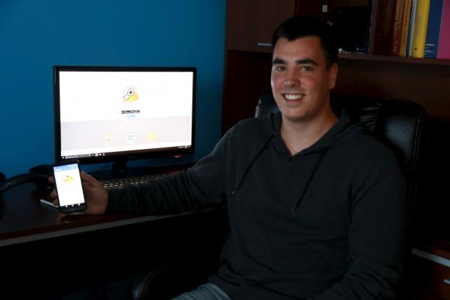 Alexandre Guertin est le développeur derrière l'application Detectick,... (Catherine Trudeau)