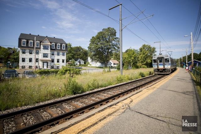 Les environs de la Gare du Vieux-Moulin à... (Photo Marco Campanozzi, La Presse)