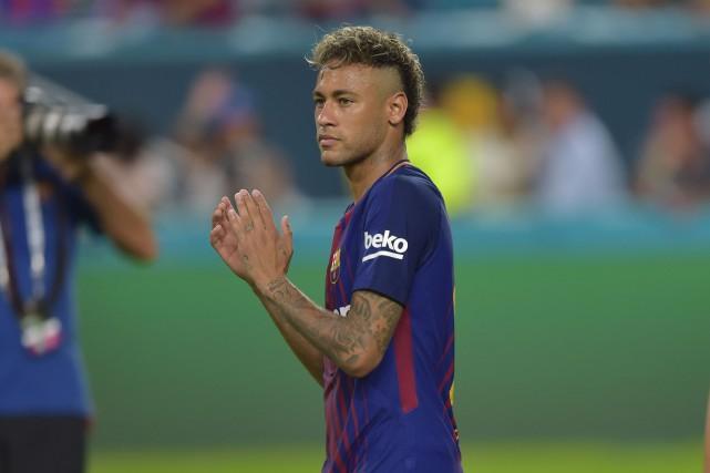Neymar... (Photo Hector Retamal, AFP)