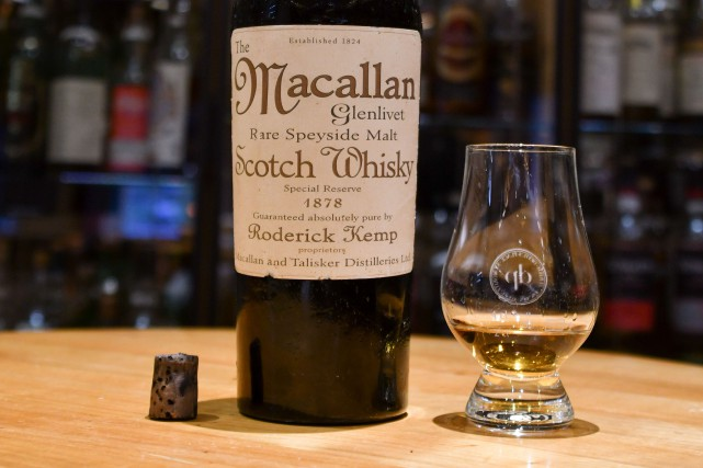 Le Macallanest connu comme étant le whisky préféré... (Photo AFP)