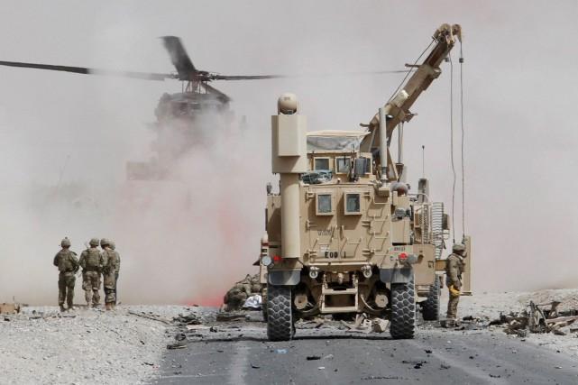 Les talibans ont revendiqué la responsabilité de l'attentat,... (Photo Ahmad Nadeem, REUTERS)