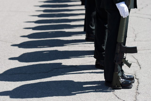Les militaires peuvent participer depuis des années aux... (PHOTO ARCHIVES LA PRESSE CANADIENNE)