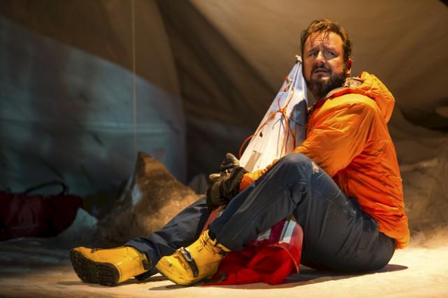 La pièce Antarctique Solo avec Rémi-Pierre Paquin connaît... (Olivier Croteau)