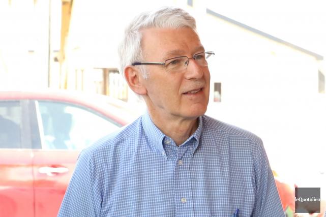 Le président-directeur général de la Financière agricole, Ernest... (Photo Le Quotidien, Yohann Gasse)