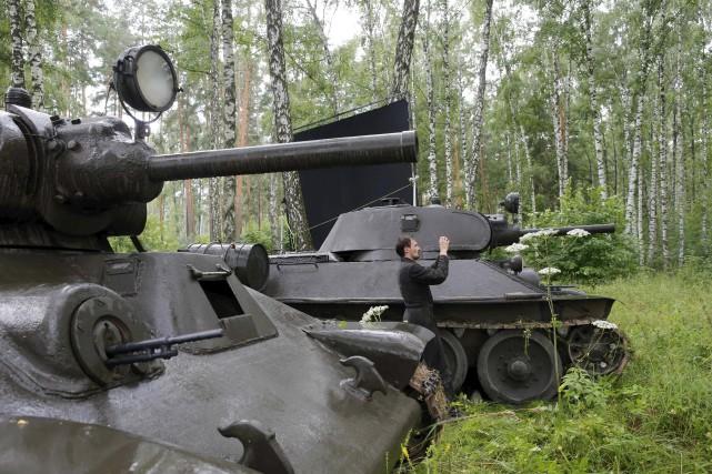 Tourné dans une forêt à une soixantaine de... (AFP, Maxim Zmeyev)