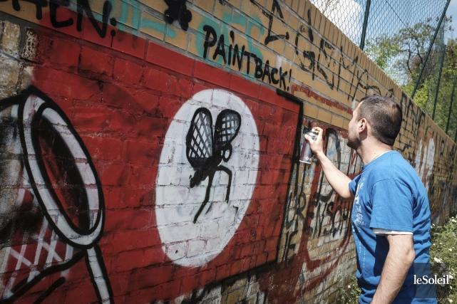 Un groupe d'artistes de rue de Berlin se... (Photothèque Le Soleil)