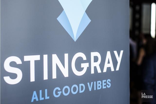 Le fournisseur québécois de services musicaux Groupe Stingray... (Archives, La Presse)