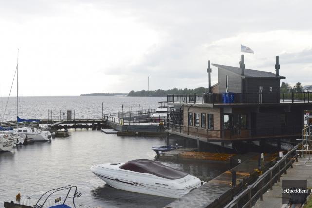 L'amélioration de la marina de Péribonka nécessite un... (Photo Le Quotidien, Dominique Gobeil)