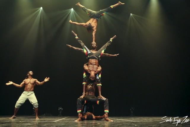 Parmi les acrobaties exécutées par les artisans du... (Photo courtoisie)